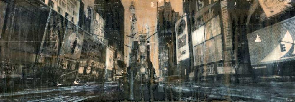 konfigurieren des Kunstdrucks in Wunschgröße Times Square 1 von Moschetta, Dario