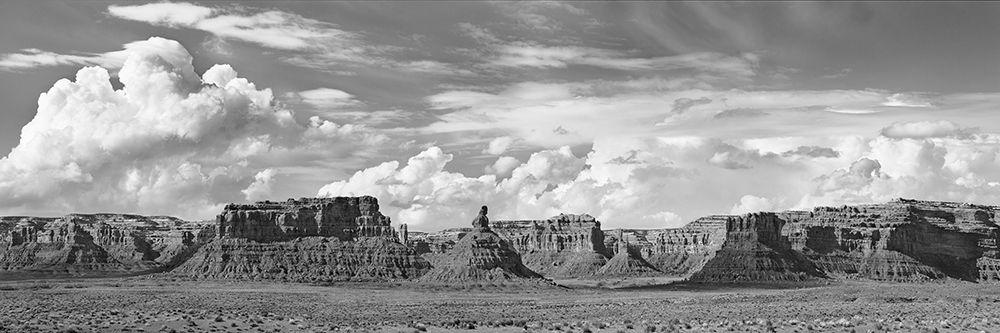 konfigurieren des Kunstdrucks in Wunschgröße Valley Of The Gods- Utah- USA (BW) von Krahmer, Frank