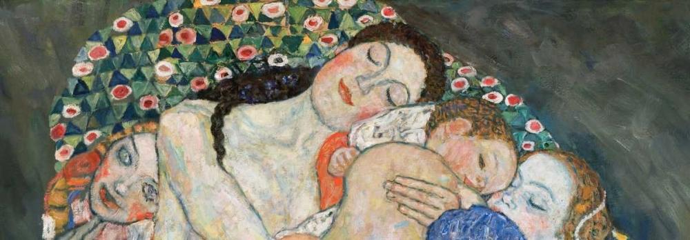 konfigurieren des Kunstdrucks in Wunschgröße Death and Life von Klimt, Gustav