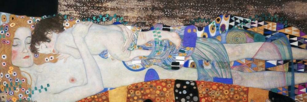 konfigurieren des Kunstdrucks in Wunschgröße The Three Ages of Woman von Klimt, Gustav