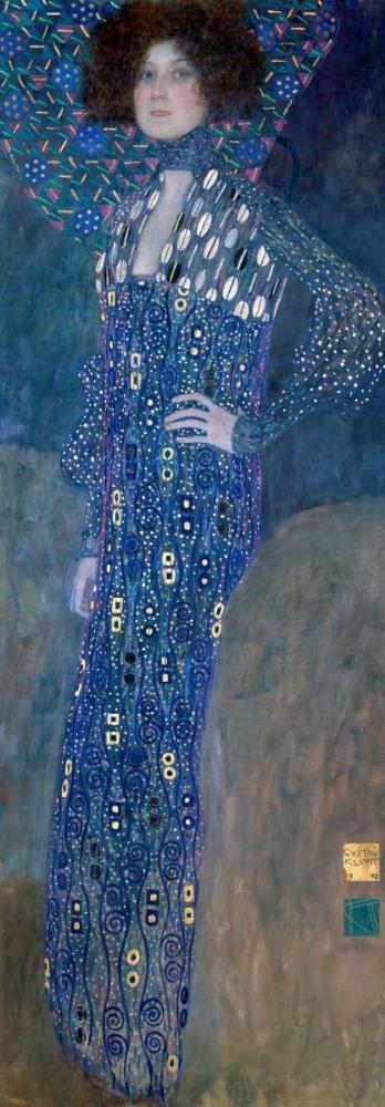 konfigurieren des Kunstdrucks in Wunschgröße Emilie Louise Flöge von Klimt, Gustav