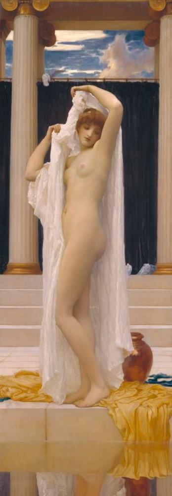 konfigurieren des Kunstdrucks in Wunschgröße The Bath of Psyche von Leighton, Frederic
