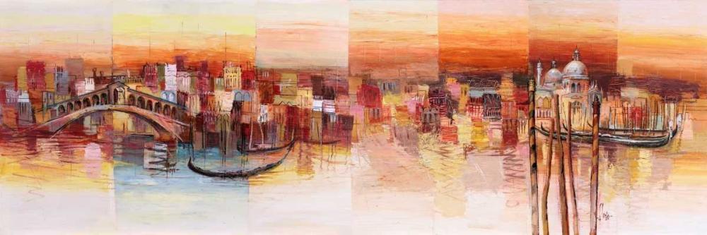 konfigurieren des Kunstdrucks in Wunschgröße Sognando Venezia von Florio, Luigi