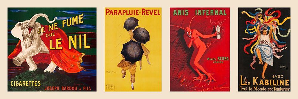 konfigurieren des Kunstdrucks in Wunschgröße Vintage Parade I von Cappiello, Leonetto