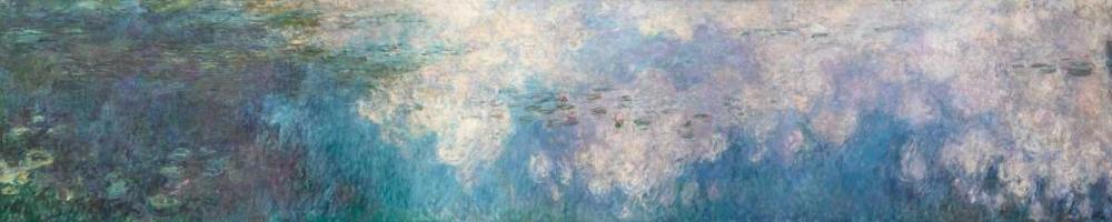 konfigurieren des Kunstdrucks in Wunschgröße The Water Lilies - The Clouds von Monet, Claude