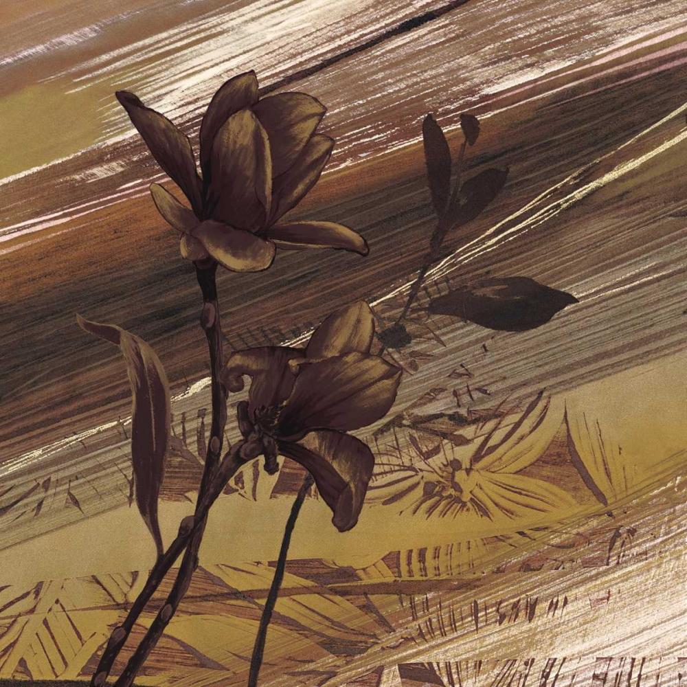 konfigurieren des Kunstdrucks in Wunschgröße Fleurs dor II von Brochard, Anne