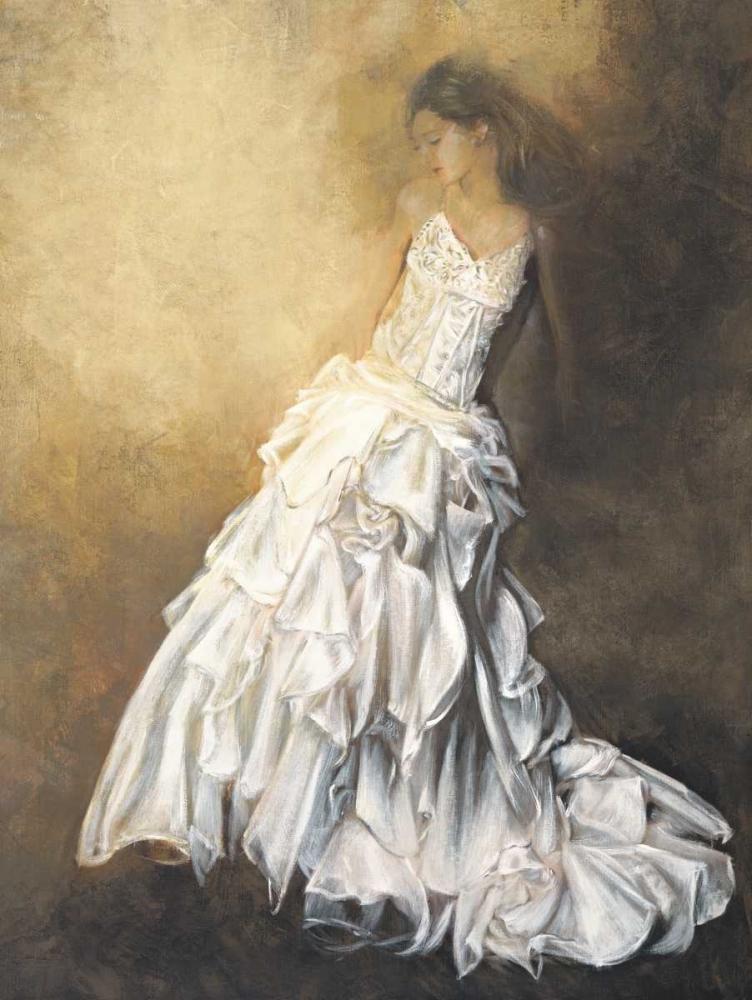 konfigurieren des Kunstdrucks in Wunschgröße Donna in bianco von Bassetti, Andrea