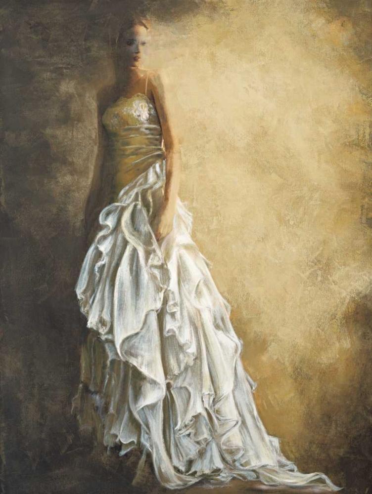 konfigurieren des Kunstdrucks in Wunschgröße Il vestito bianco von Bassetti, Andrea