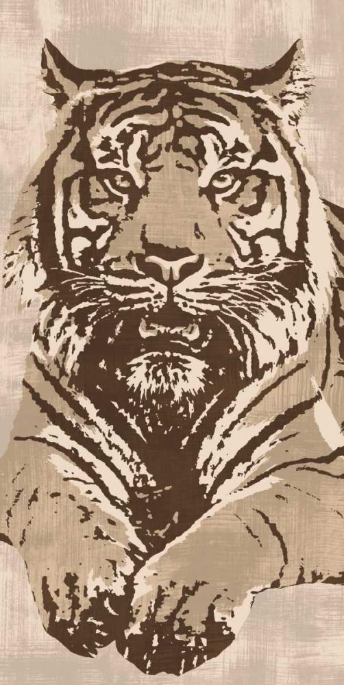 konfigurieren des Kunstdrucks in Wunschgröße Tiger von Cooper, Andrew