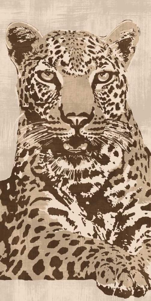 konfigurieren des Kunstdrucks in Wunschgröße Leopard von Cooper, Andrew