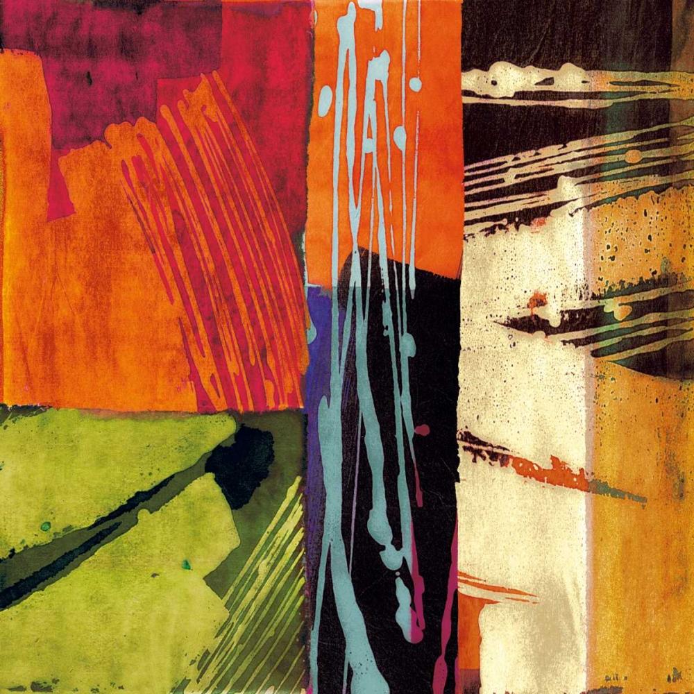 konfigurieren des Kunstdrucks in Wunschgröße Colors II von James, Andy