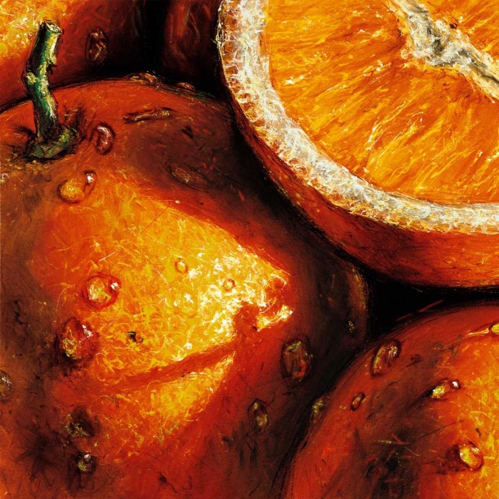 konfigurieren des Kunstdrucks in Wunschgröße Oranges von AlmaCh