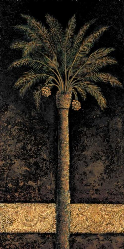 konfigurieren des Kunstdrucks in Wunschgröße Dusk Palms I von Mazo, Andre
