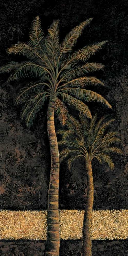konfigurieren des Kunstdrucks in Wunschgröße Dusk Palms II von Mazo, Andre