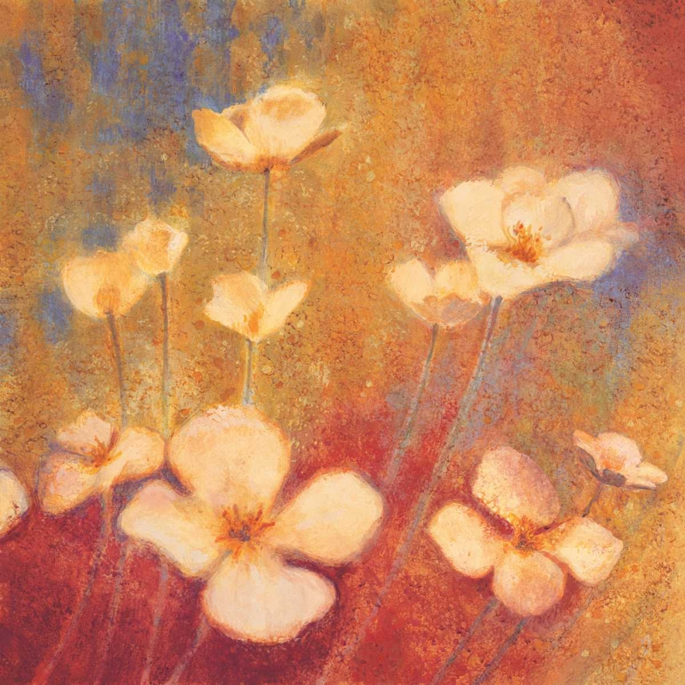 konfigurieren des Kunstdrucks in Wunschgröße Field of Color II von Michaels, Anne