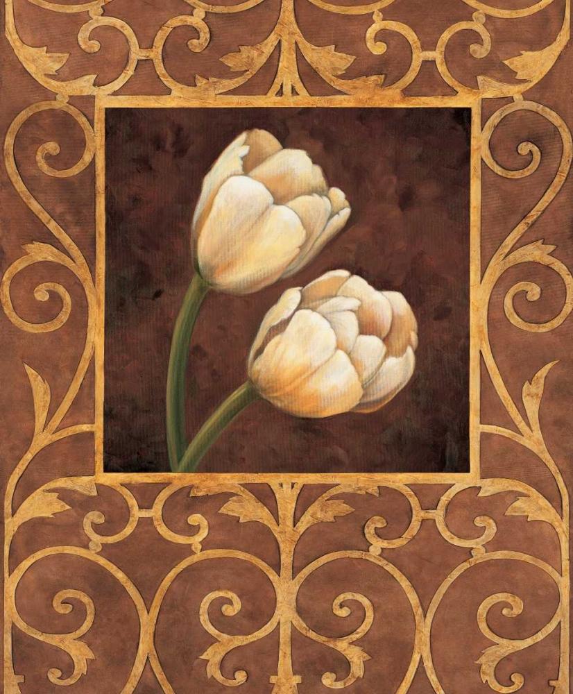 konfigurieren des Kunstdrucks in Wunschgröße Ornamental Tulips von Gonzales, Andres