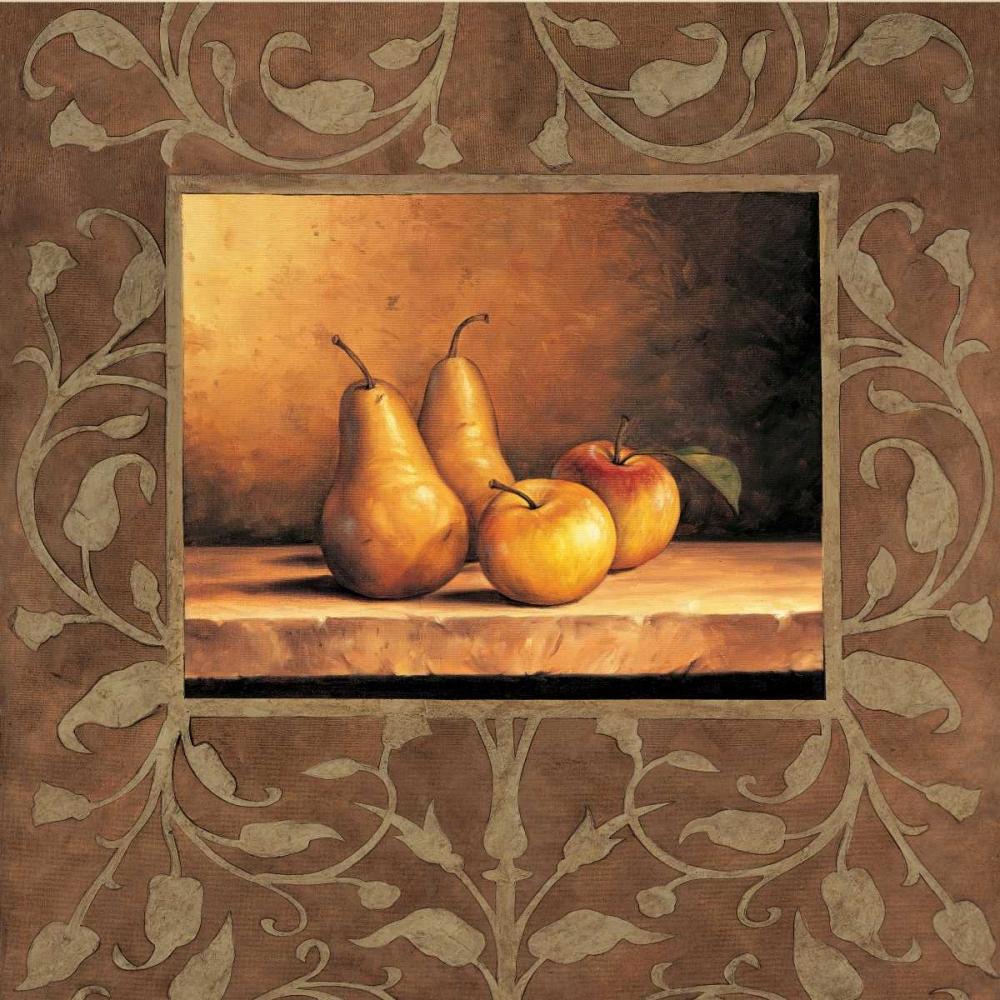 konfigurieren des Kunstdrucks in Wunschgröße Pears and Apples von Gonzales, Andres