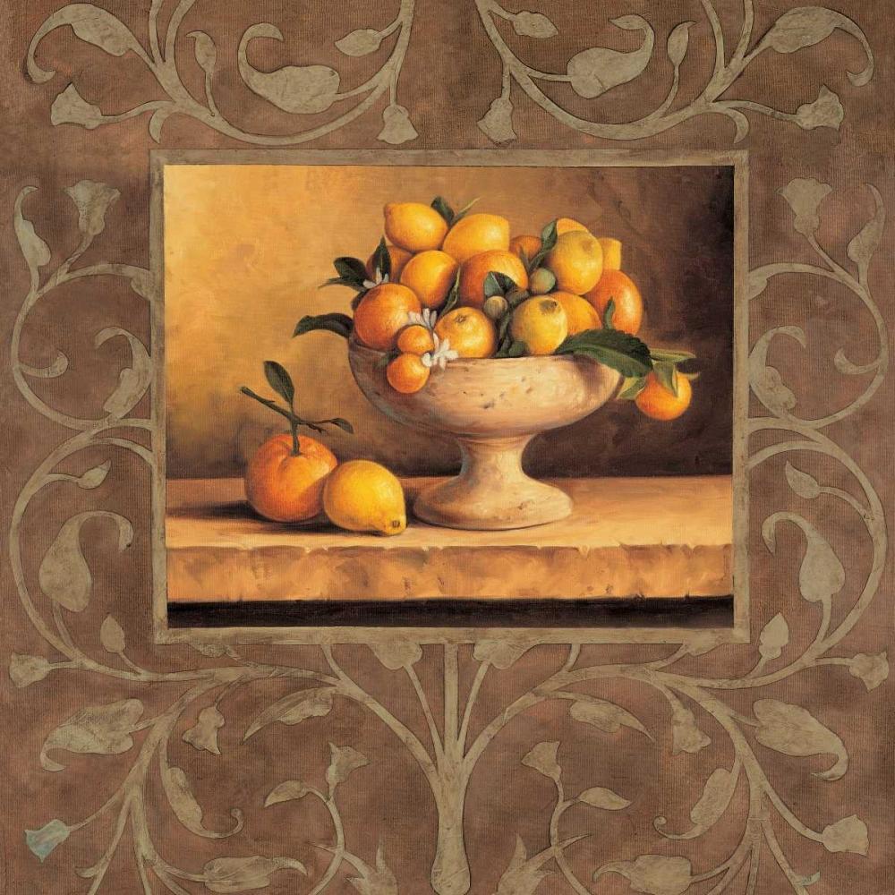 konfigurieren des Kunstdrucks in Wunschgröße Oranges and Lemons von Gonzales, Andres