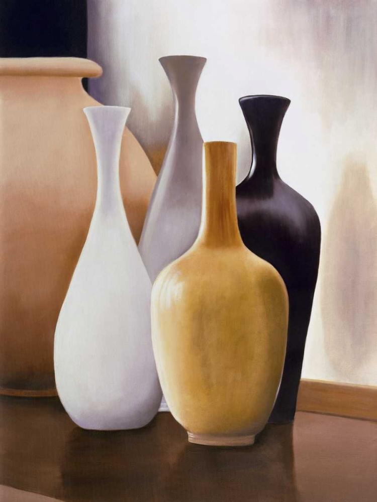 konfigurieren des Kunstdrucks in Wunschgröße Shapes and Reflections I von Stevens, Arlene