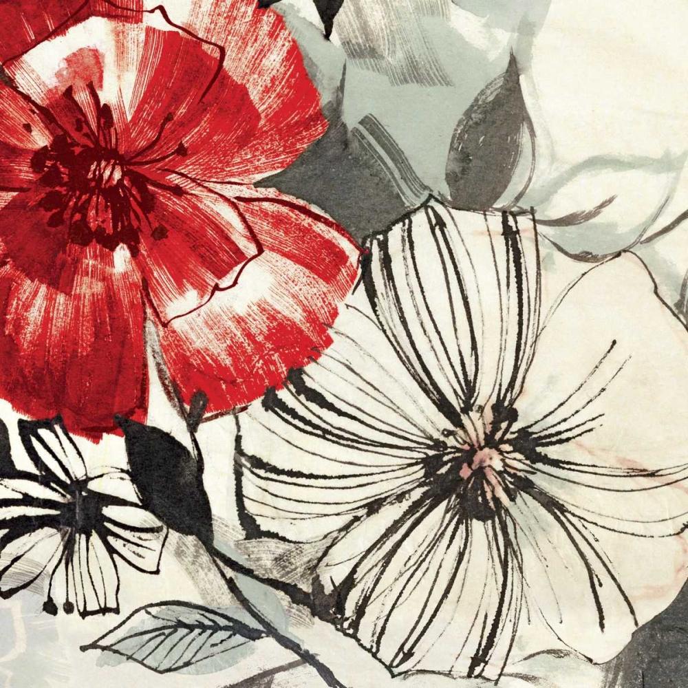 konfigurieren des Kunstdrucks in Wunschgröße Red Gems I von Inger, Astrid