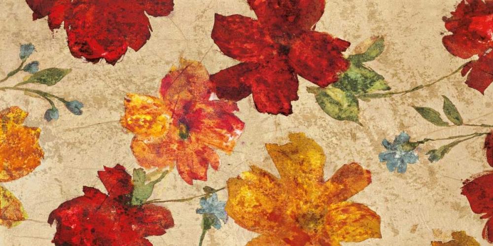 konfigurieren des Kunstdrucks in Wunschgröße Fleurs du printemps von Cleret, Audrey