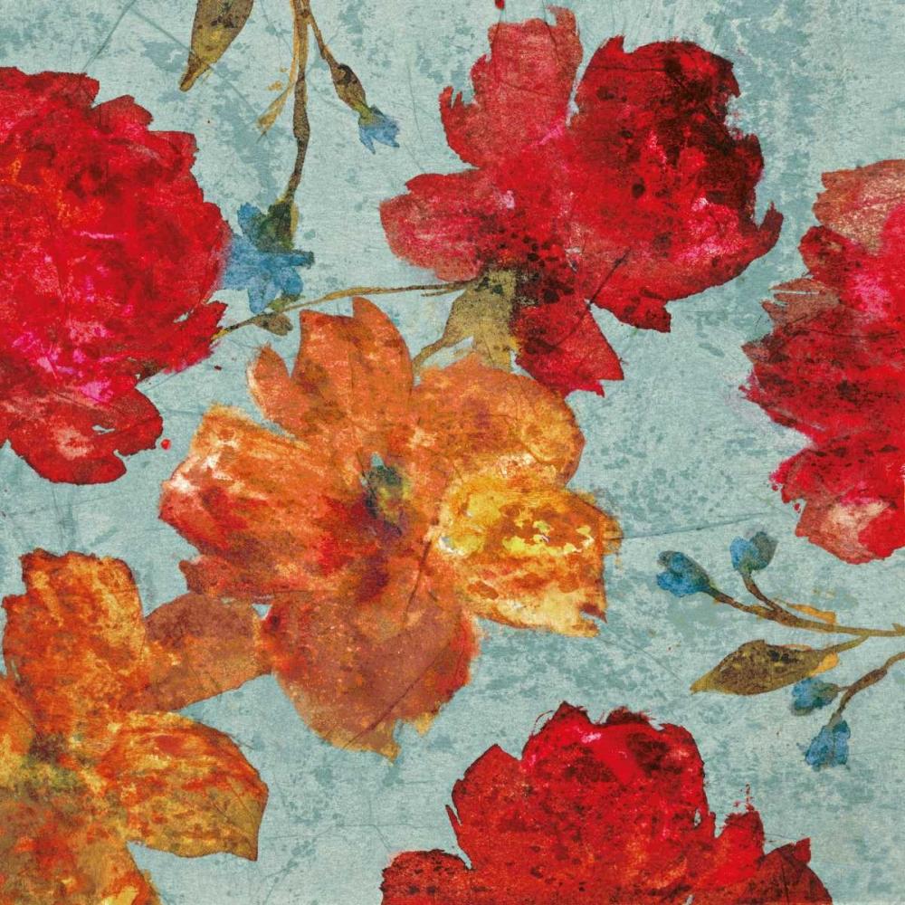 konfigurieren des Kunstdrucks in Wunschgröße Printemps II von Cleret, Audrey