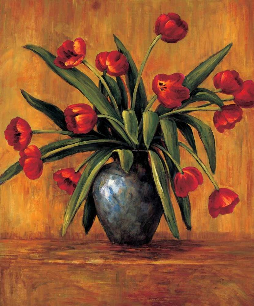 konfigurieren des Kunstdrucks in Wunschgröße Red Tulips von Francis, Brian