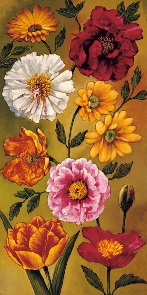 konfigurieren des Kunstdrucks in Wunschgröße Floral Bouquet I von Francis, Brian