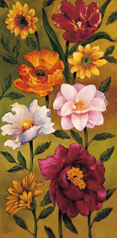 konfigurieren des Kunstdrucks in Wunschgröße Floral Bouquet II von Francis, Brian