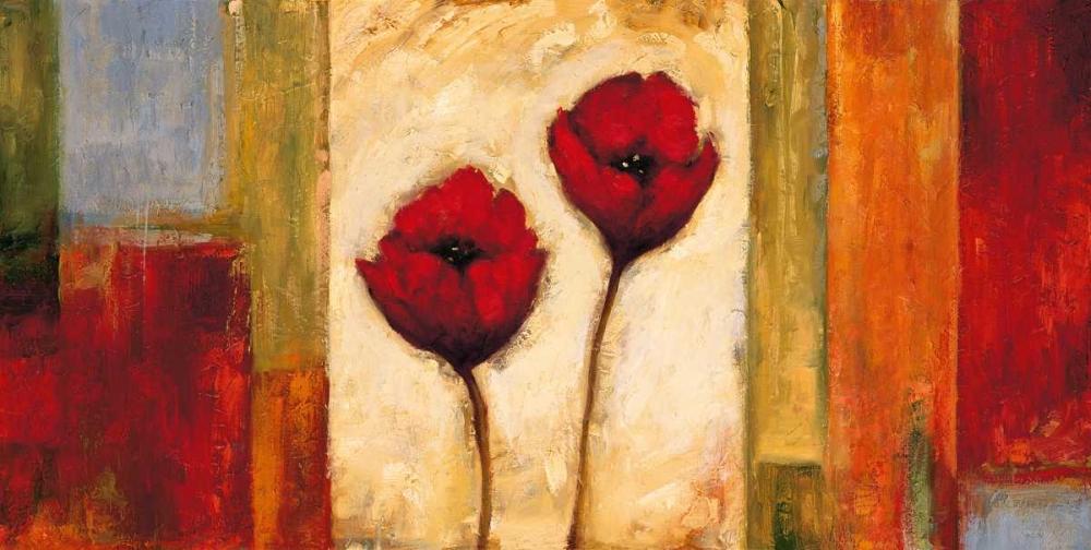 konfigurieren des Kunstdrucks in Wunschgröße Poppies in Rhythm II von Francis, Brian