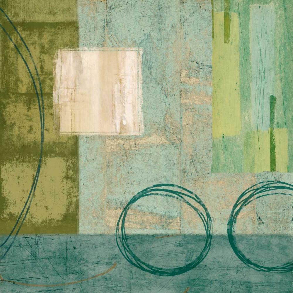 konfigurieren des Kunstdrucks in Wunschgröße Aquamarine I von Nelson, Brent