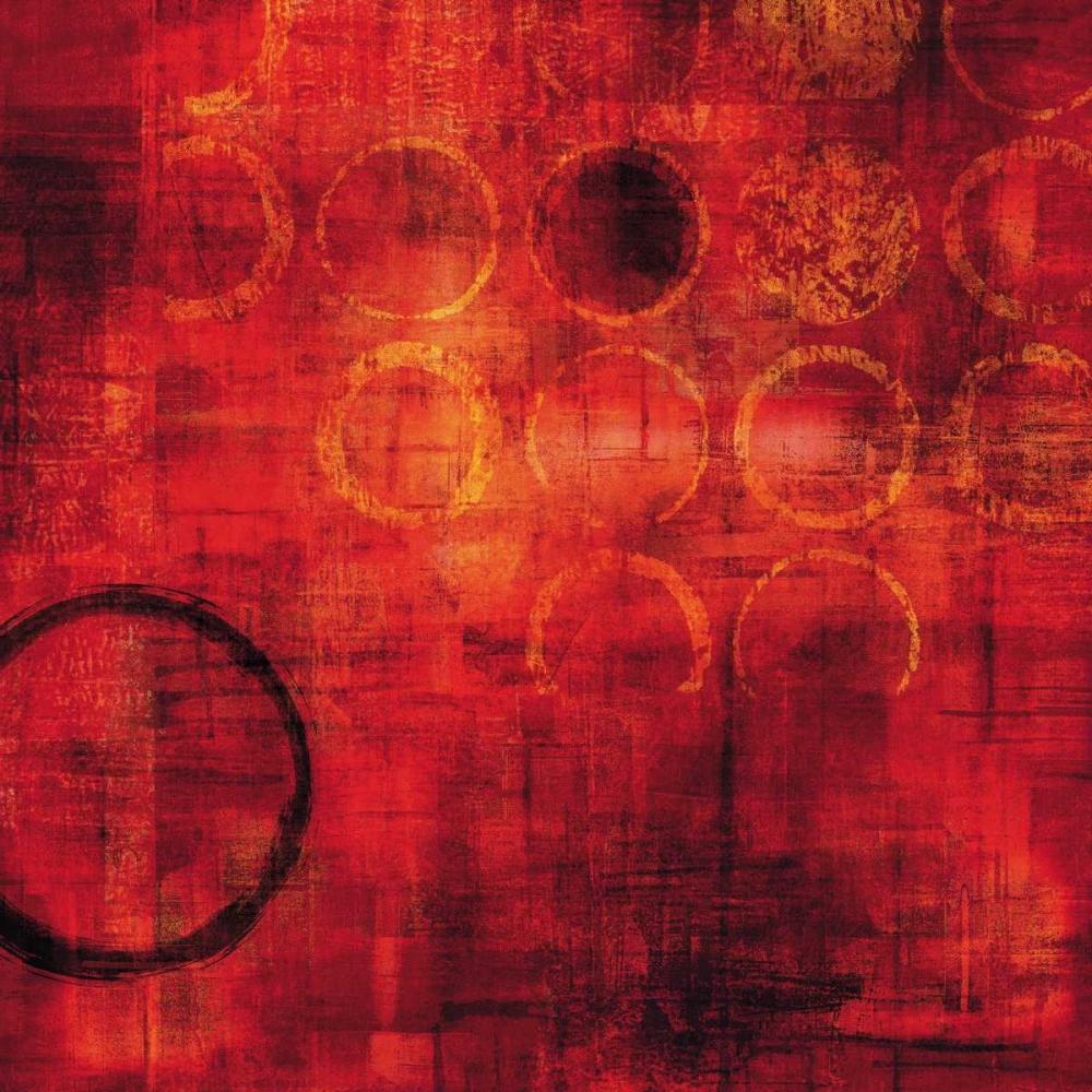 konfigurieren des Kunstdrucks in Wunschgröße Rojo von Nelson, Brent