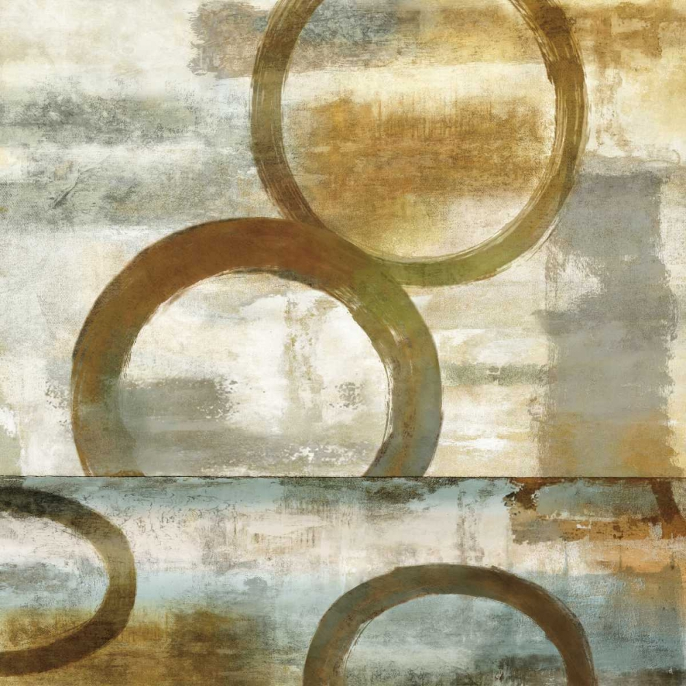 konfigurieren des Kunstdrucks in Wunschgröße Round And Round II von Nelson, Brent