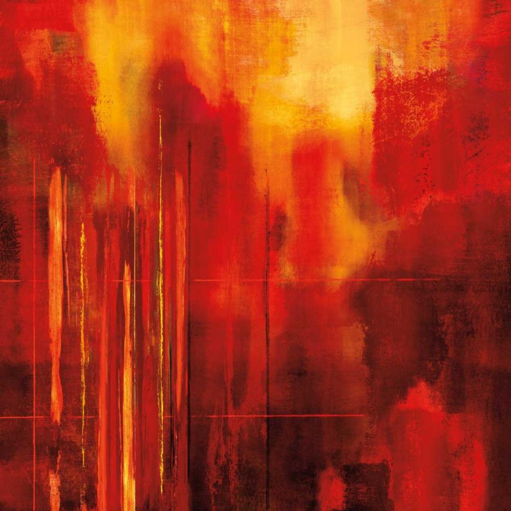 konfigurieren des Kunstdrucks in Wunschgröße Red Zone II von Nelson, Brent