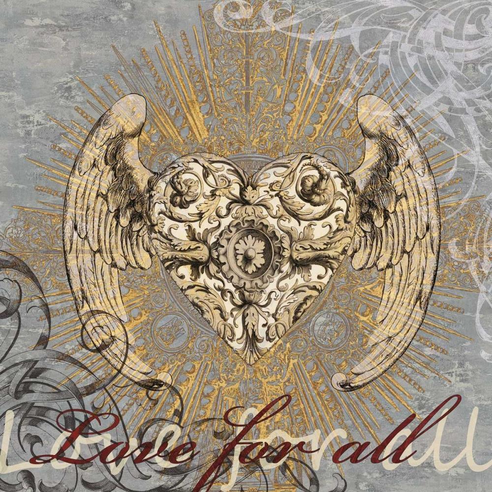 konfigurieren des Kunstdrucks in Wunschgröße Love for All von Glover, Brandon