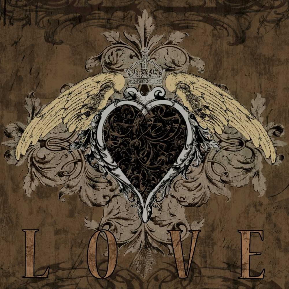 konfigurieren des Kunstdrucks in Wunschgröße Love von Glover, Brandon