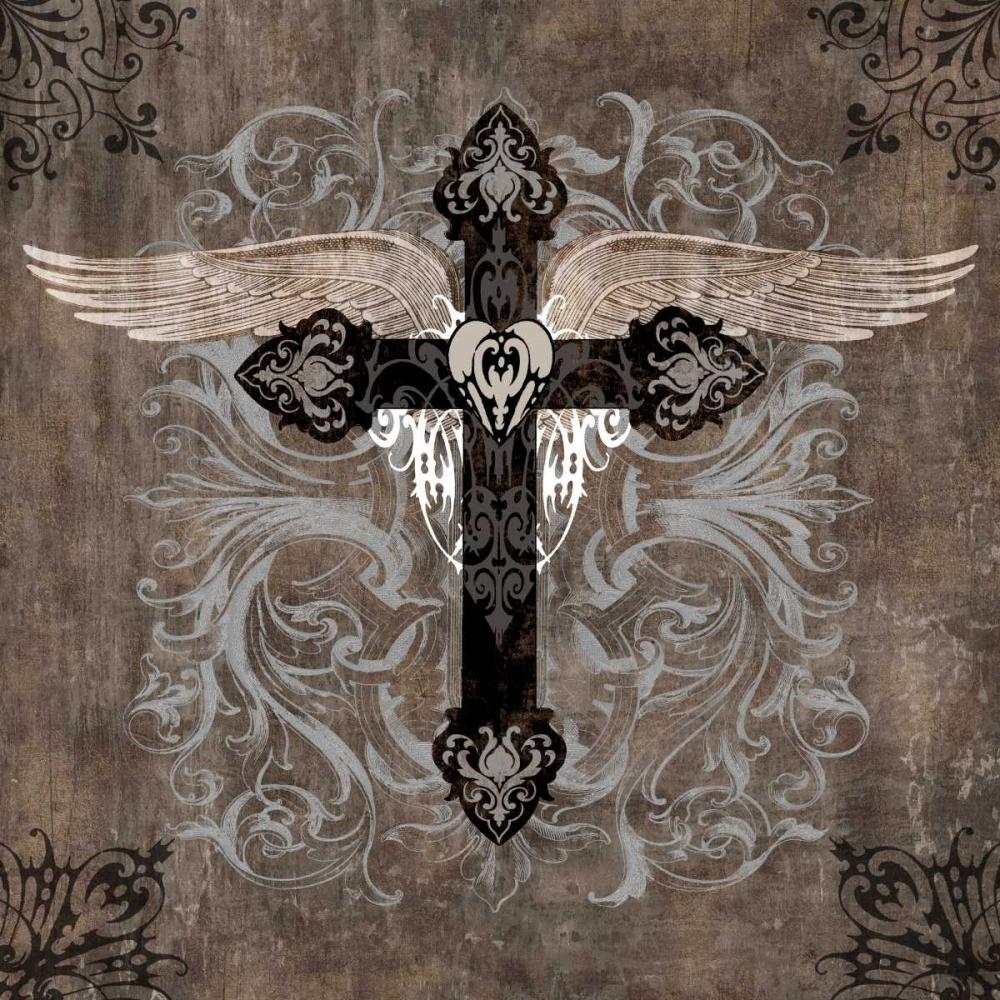 konfigurieren des Kunstdrucks in Wunschgröße Cross II von Glover, Brandon