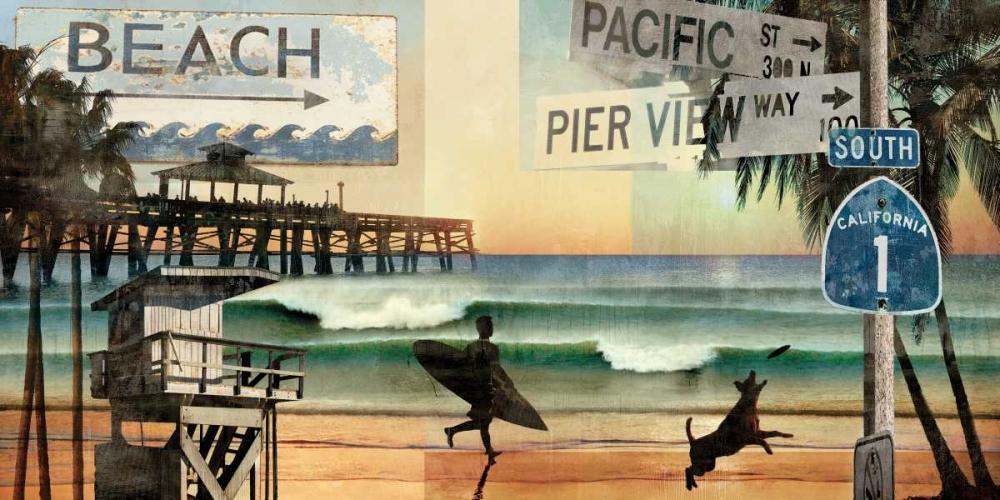 konfigurieren des Kunstdrucks in Wunschgröße California Dreaming von Carter, Charlie