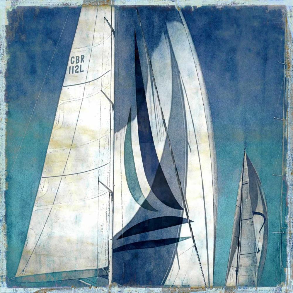 konfigurieren des Kunstdrucks in Wunschgröße Sail Away I von Carter, Charlie