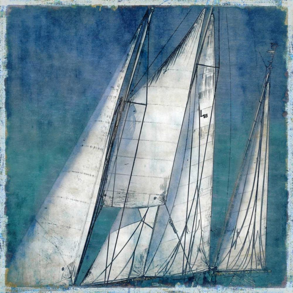 konfigurieren des Kunstdrucks in Wunschgröße Sail Away II von Carter, Charlie
