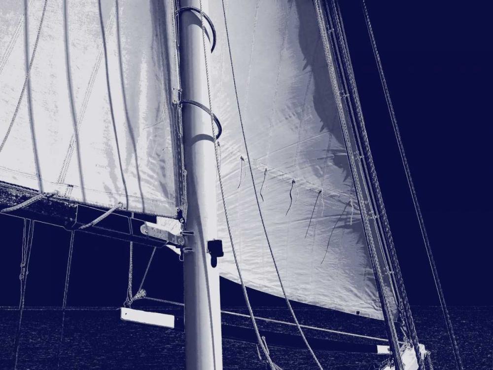 konfigurieren des Kunstdrucks in Wunschgröße Schooner Sails I von Carter, Charlie