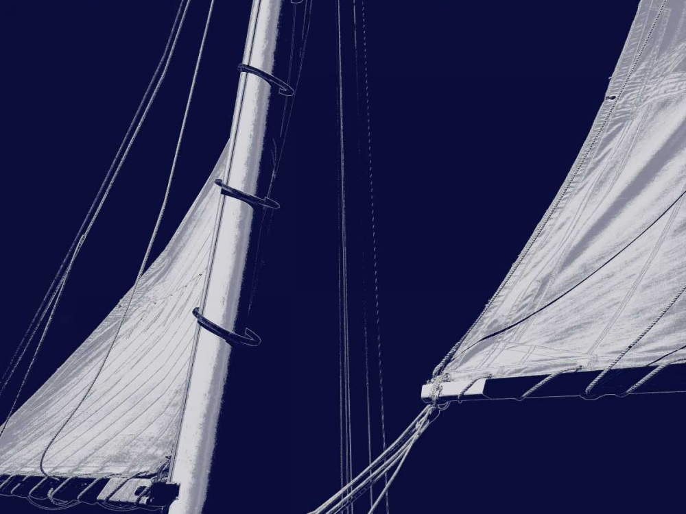 konfigurieren des Kunstdrucks in Wunschgröße Schooner Sails II von Carter, Charlie