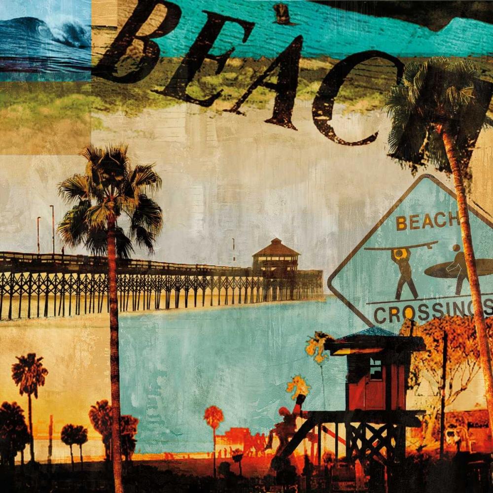 konfigurieren des Kunstdrucks in Wunschgröße Beach Culture von Carter, Charlie