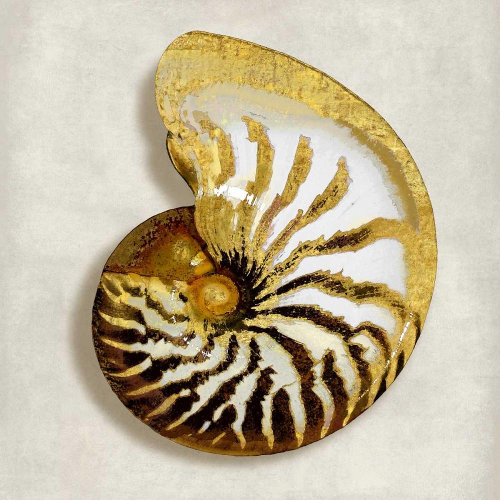 konfigurieren des Kunstdrucks in Wunschgröße Golden Ocean Gems on Ivory II von Kelly, Caroline