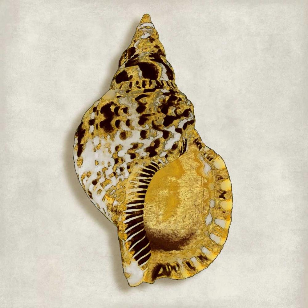 konfigurieren des Kunstdrucks in Wunschgröße Golden Ocean Gems on Ivory III von Kelly, Caroline