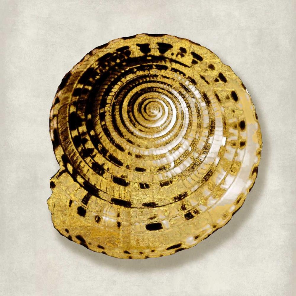 konfigurieren des Kunstdrucks in Wunschgröße Golden Ocean Gems on Ivory IV von Kelly, Caroline