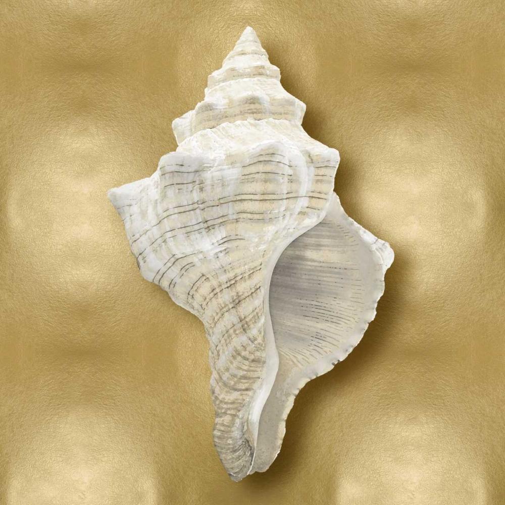 konfigurieren des Kunstdrucks in Wunschgröße Ocean Gem on Gold I von Kelly, Caroline