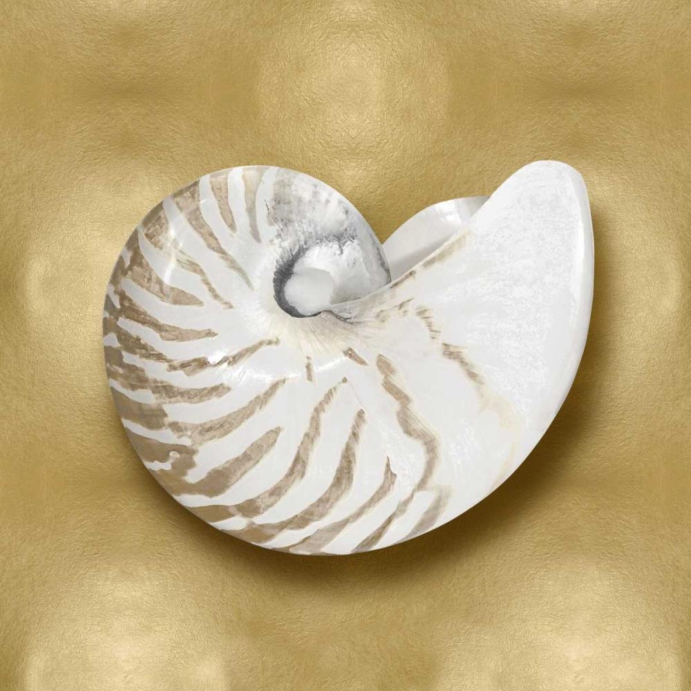 konfigurieren des Kunstdrucks in Wunschgröße Ocean Gem on Gold III von Kelly, Caroline
