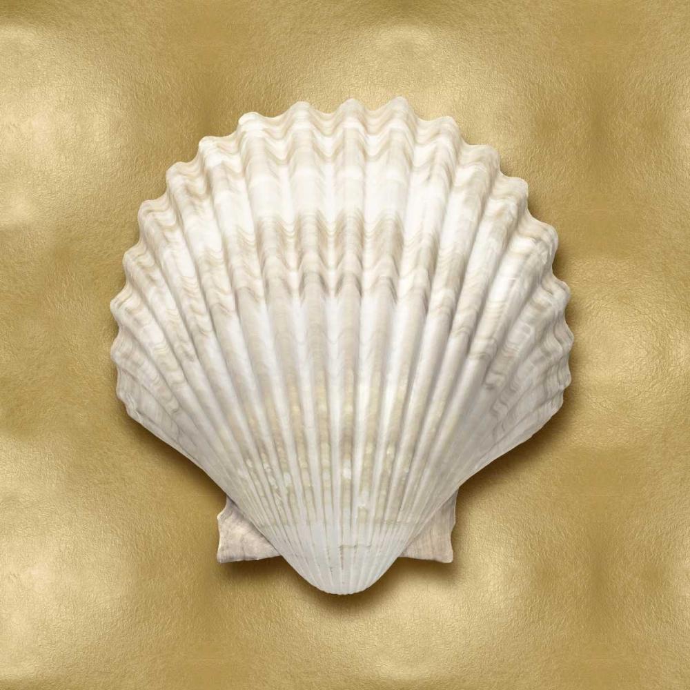 konfigurieren des Kunstdrucks in Wunschgröße Ocean Gem on Gold IV von Kelly, Caroline