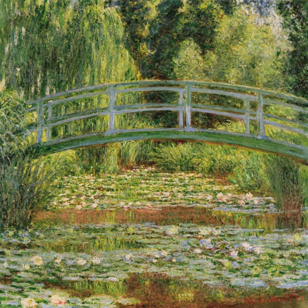 konfigurieren des Kunstdrucks in Wunschgröße Le pont Japonais Giverny von Monet, Claude